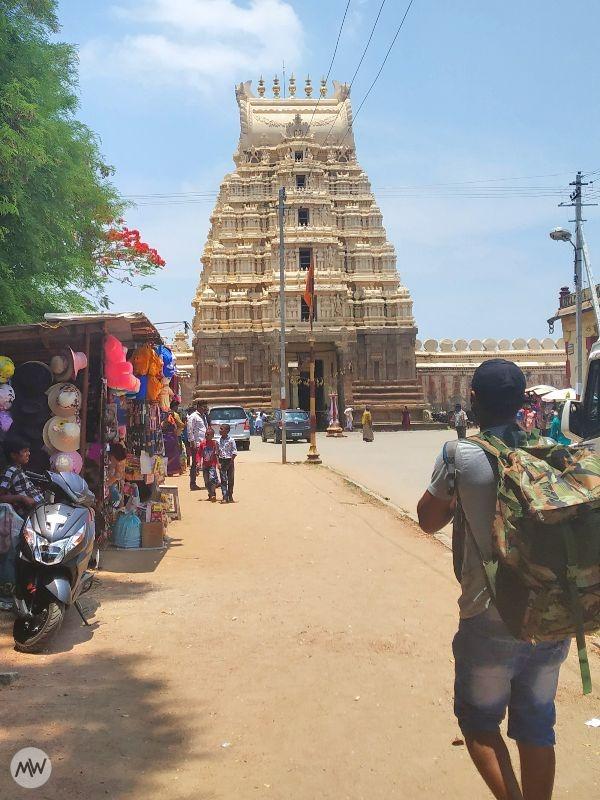 Moving Towards Ranganathaswamy Temple Srirangapatna