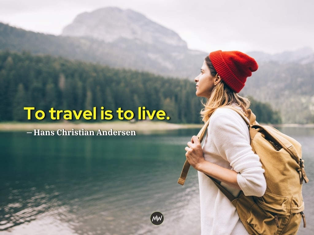Hans Christian Andersen - Solo Travel Quotes