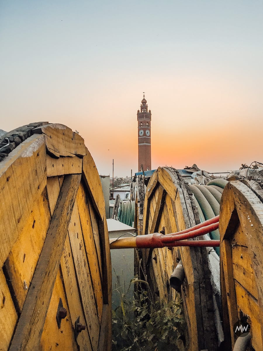 Hussainabad Clock Tower - Tallest Clock Tower of India - Artistic Shot