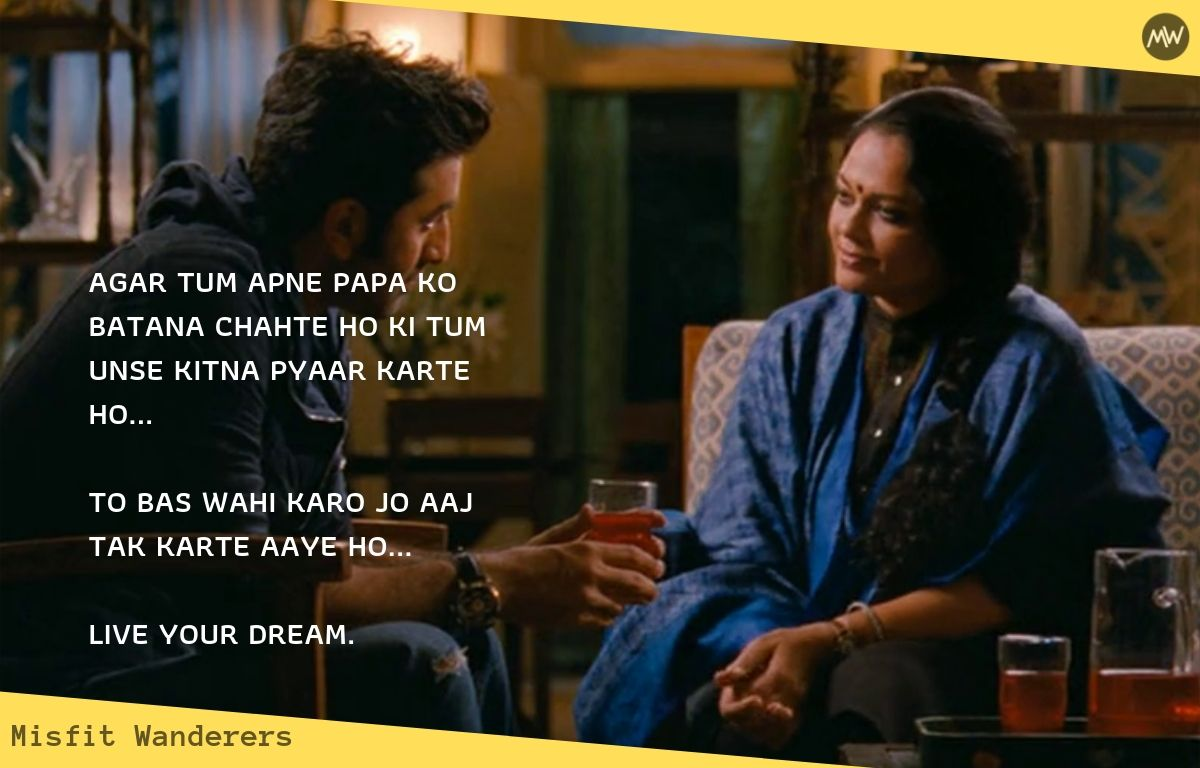 live your dream.- YJHD Dialogues