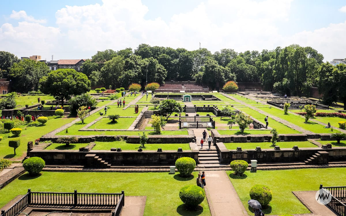 Gardens inside Shaniwar Wada