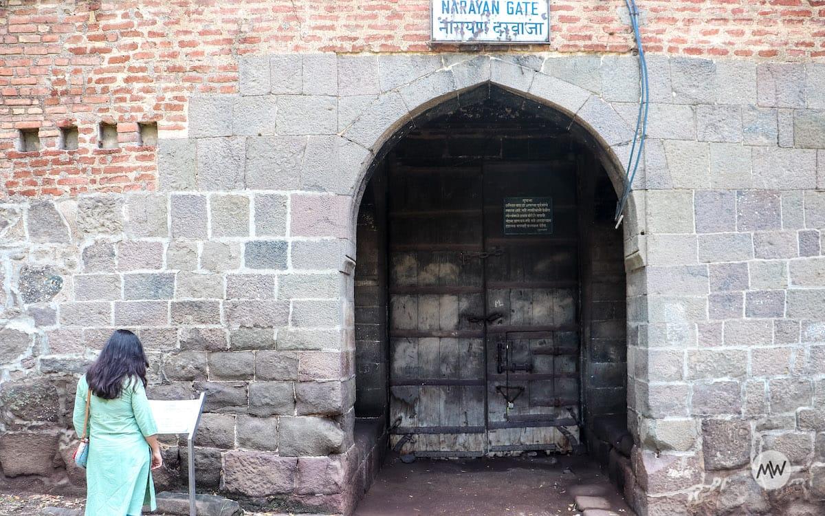 Narayan Gate of Shaniwar Wada