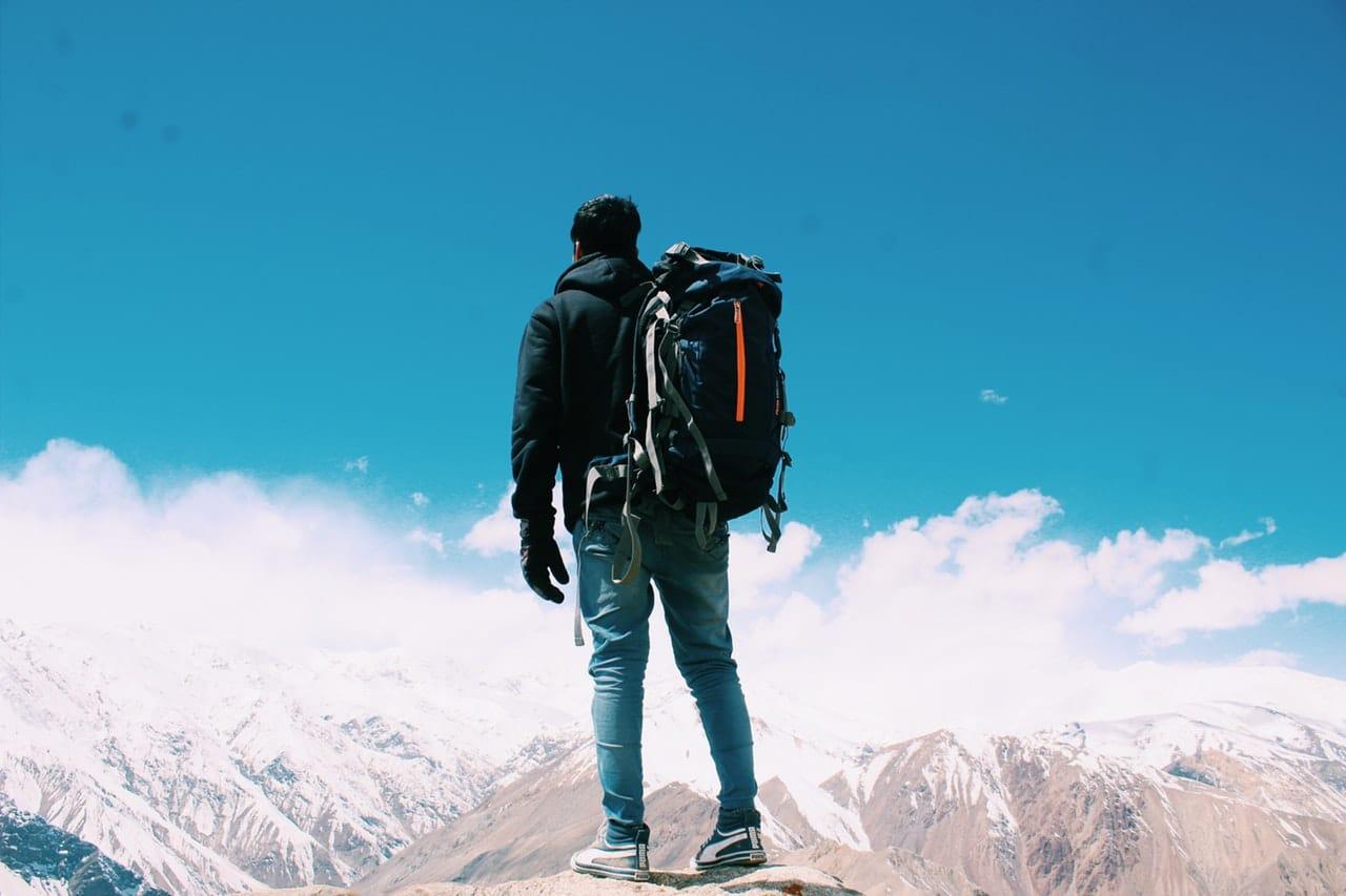 A rucksack is a true friend of a traveler!