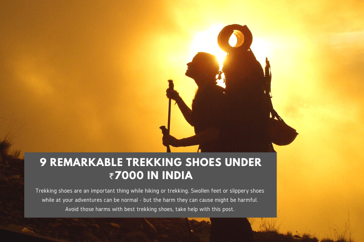Read more about the article 9 Remarkable Trekking Shoes Under ₹7000 in India