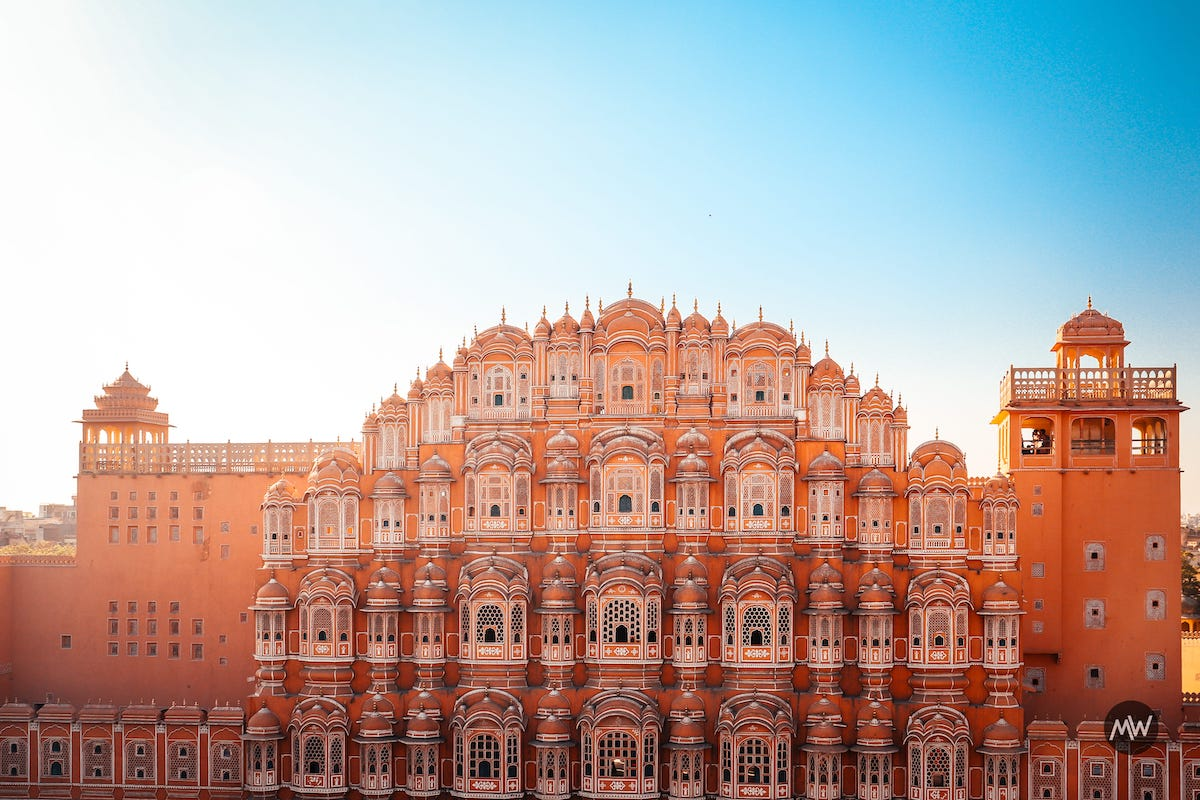 19 now finally the architecture Hawa Mahal Breeze Place Wind Palace virtual tour