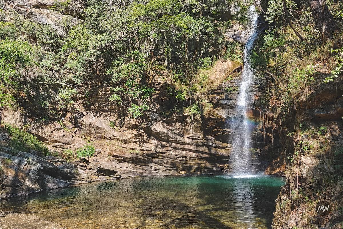 Bhalugarh Waterfalls at Mukteshwar Dham