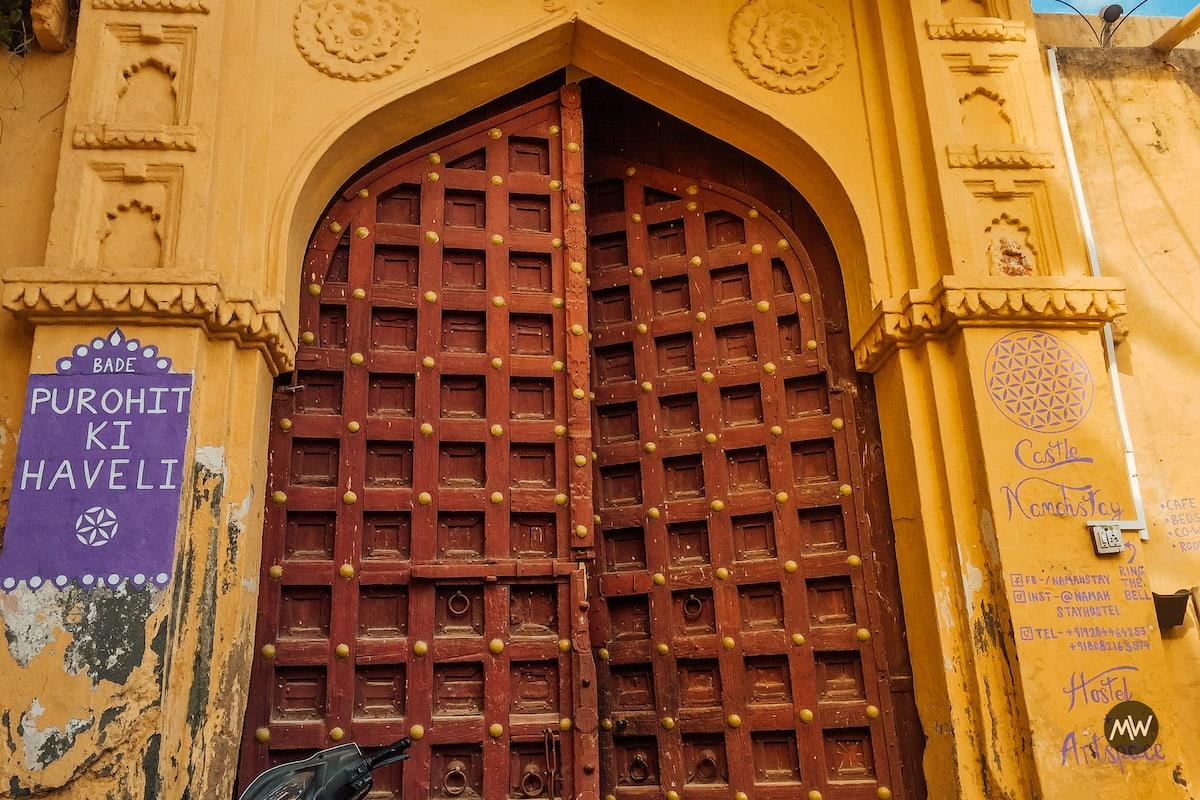 Castle Namahstay Purohit ki Haveli - Udaipur Places To Visit