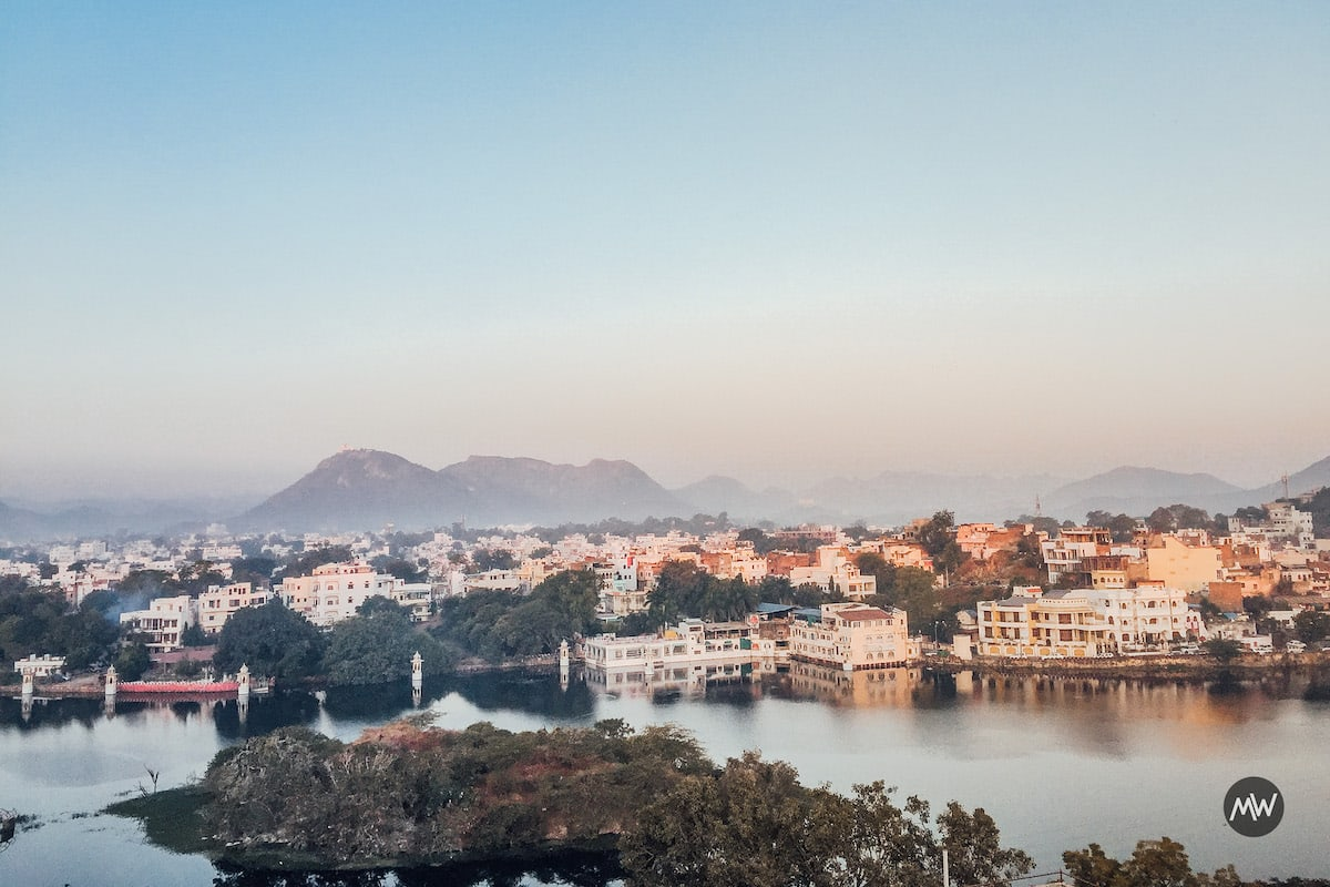 View from the Terrace - Udaipur Places To Visit