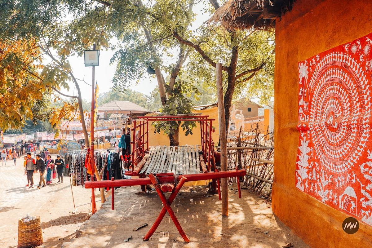 Village Setting Shilpgram