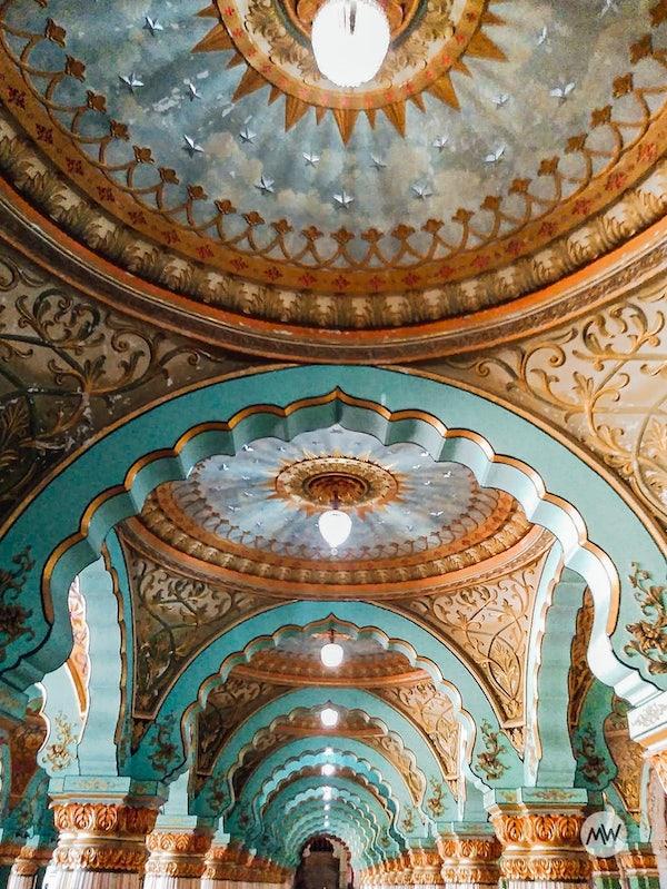 Durbar Hall - Mysore Palace Virtual Tour
