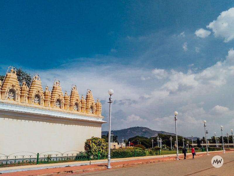 Hazy Image - Mysore Palace Virtual Tour