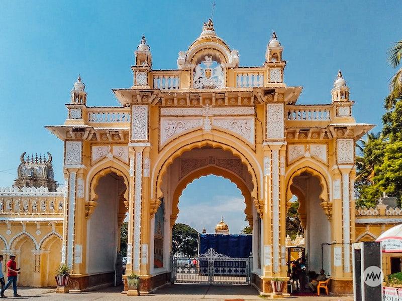 entrance gate mysore palace virtual tour