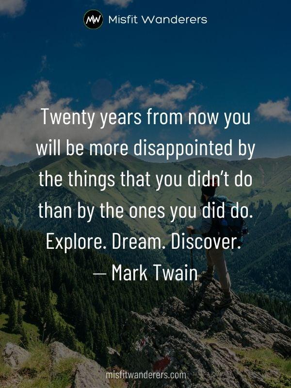 explore dream discover - best travel quotes