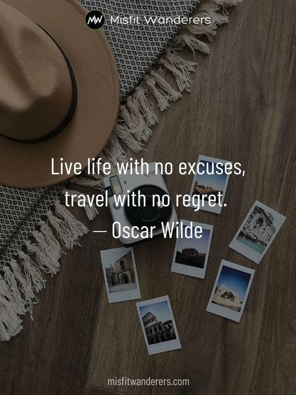 no regrets - best travel quotes