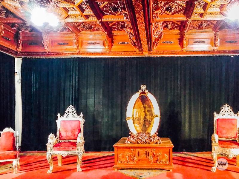 throne - mysore palace virtual tour