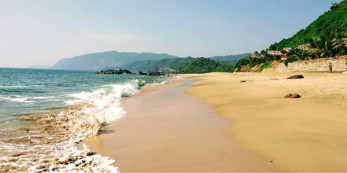 A sand beach in Goa - Perfect Wedding Destinations in India