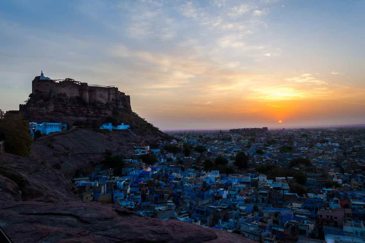 Blue City of India has its own vibe - Wedding Destinations in India