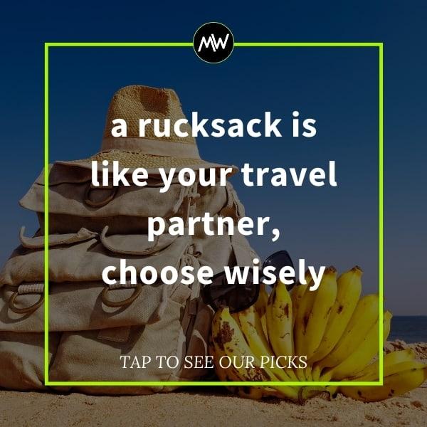 best rucksacks promo