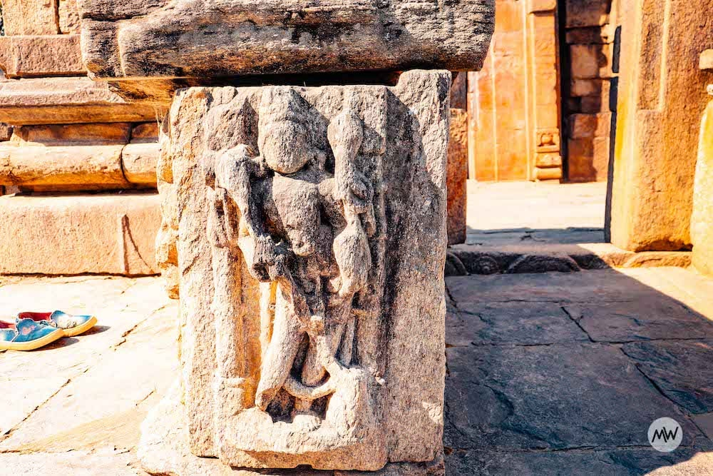 A Sculpture at Baijnath Temple