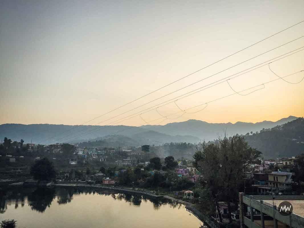 Baijnath Lake As Seen from Our Hotel