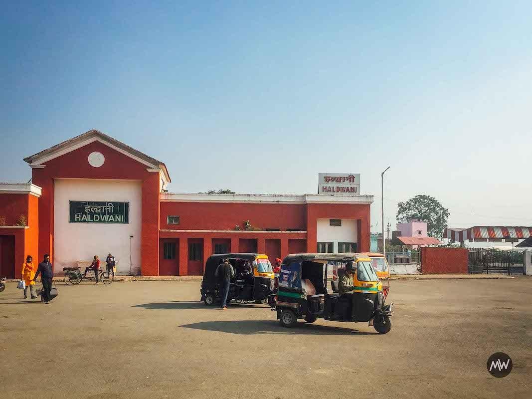 Haldwani Station Uttarakhand in the lap of the Himalayas