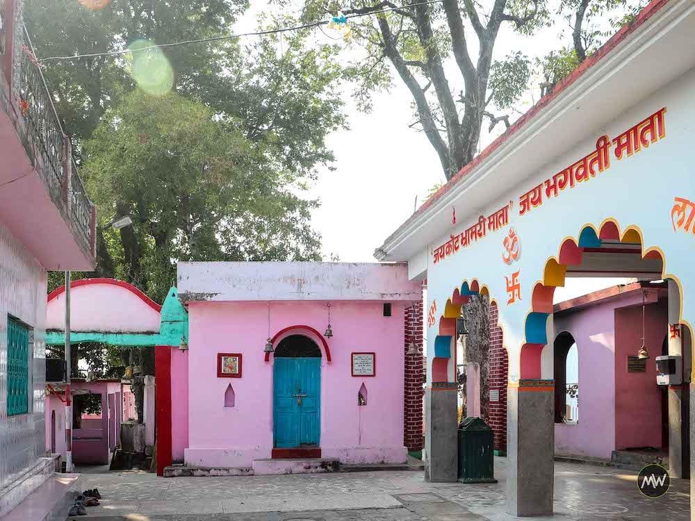 Premises of Kot Bhramari Temple