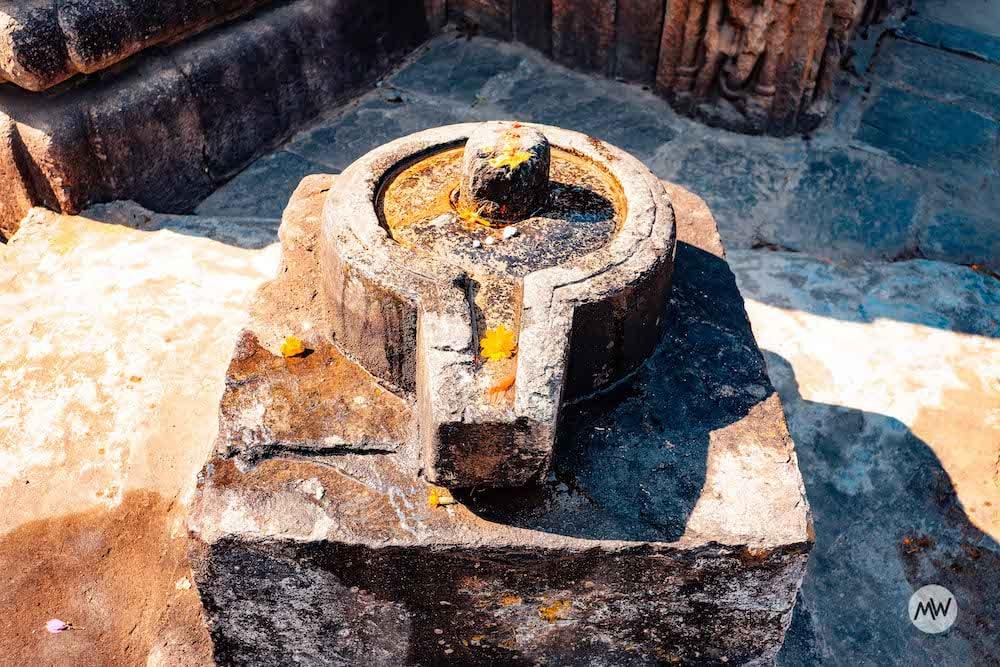 Shivling at Baijnath Temple