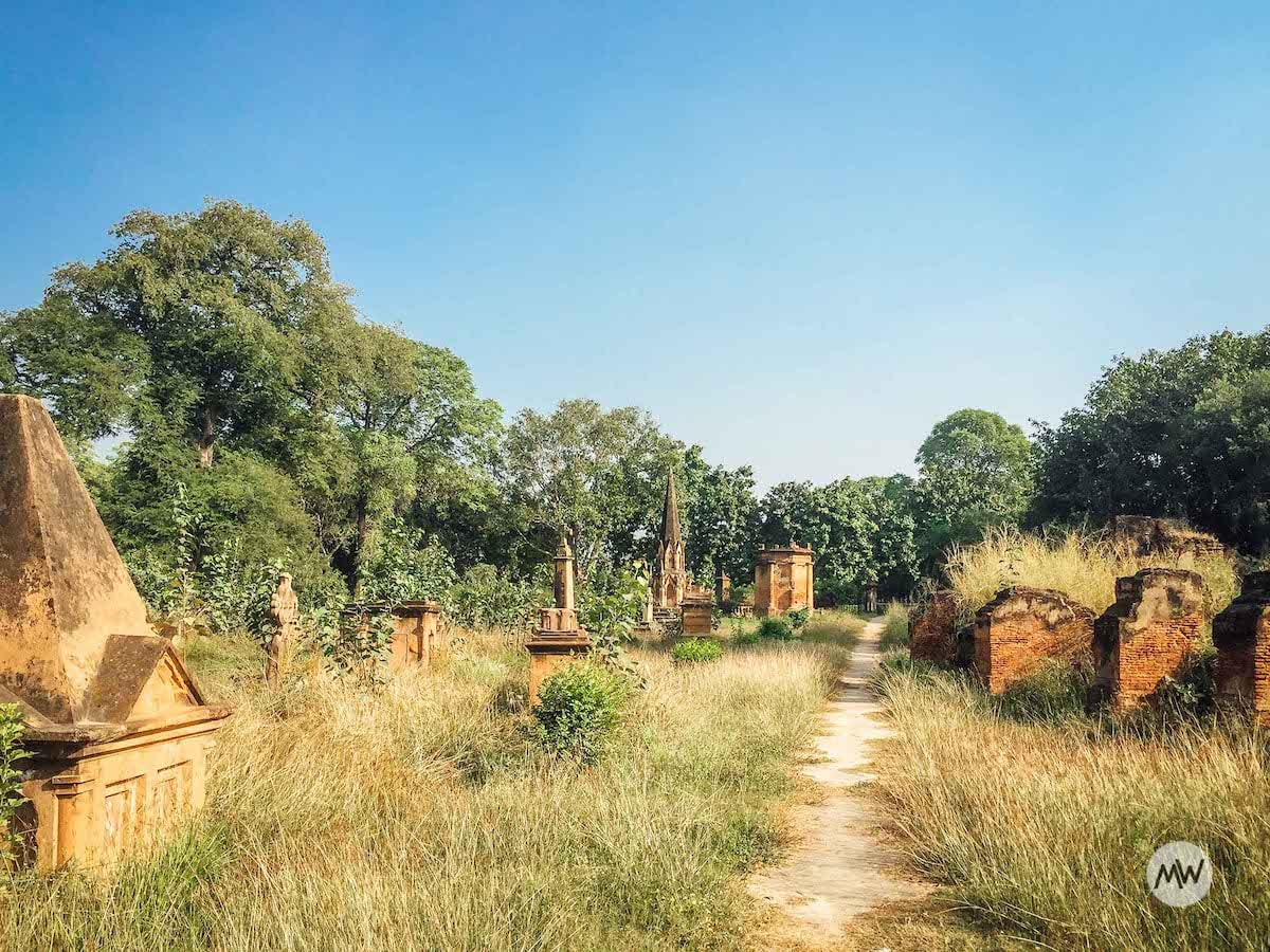 Church and Cemetery - The Residency Lucknow