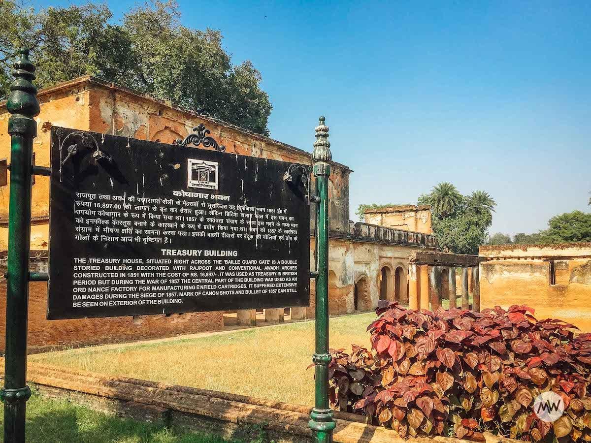 Treasury House - The Residency Lucknow