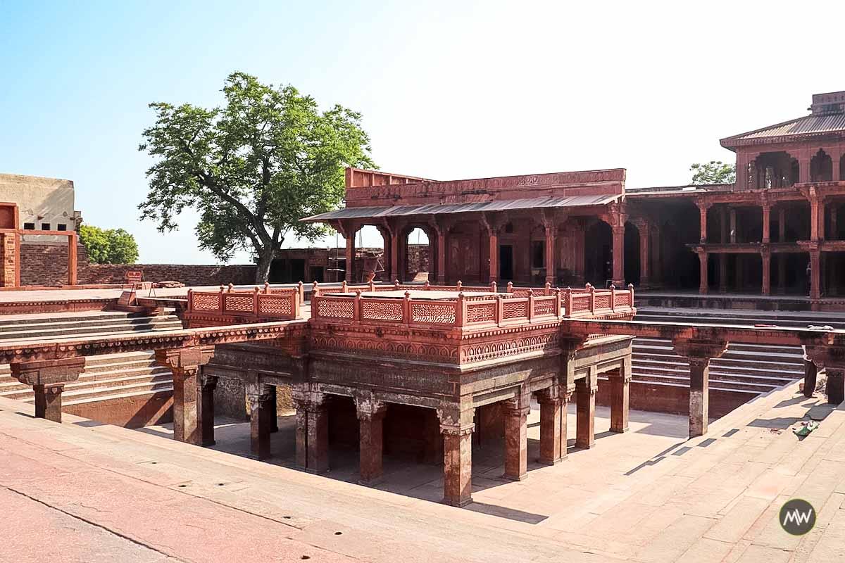 Anoop Kund at Fatehpur Sikri