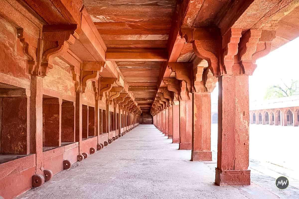 Haramsara at at Fatehpur Sikri