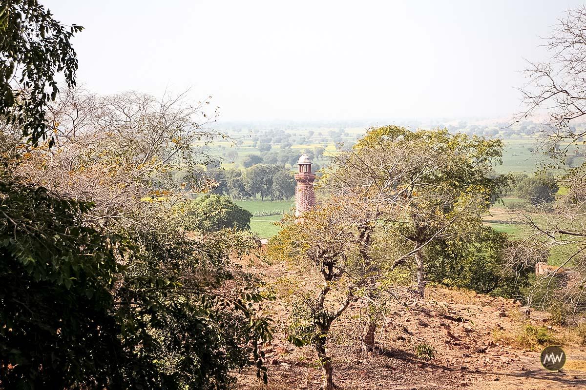 Hiran Minar at Fatehpur Sikri
