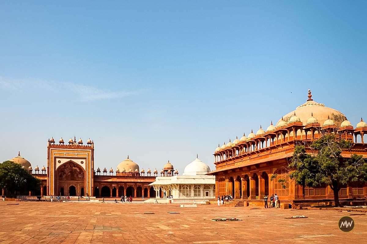 Jami Masjid and Salim Chisti Tomb at Fatehpur Sikri