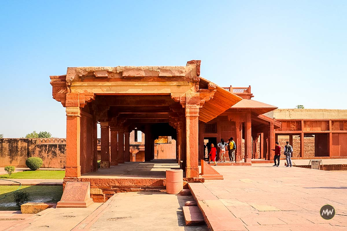 Turkish Sultana House and Girls School at Fatehpur Sikri