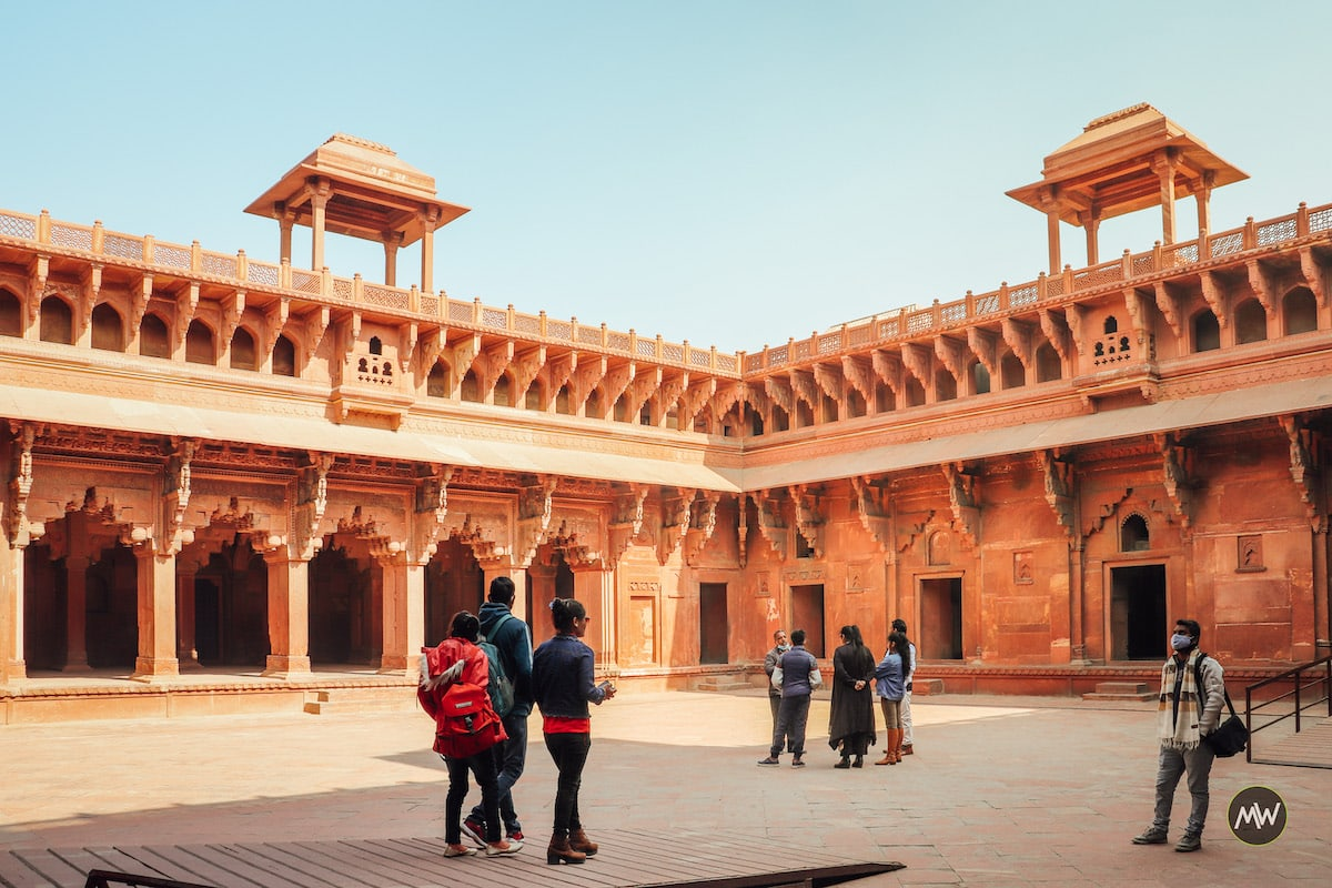 Inside Jahangir's Palace