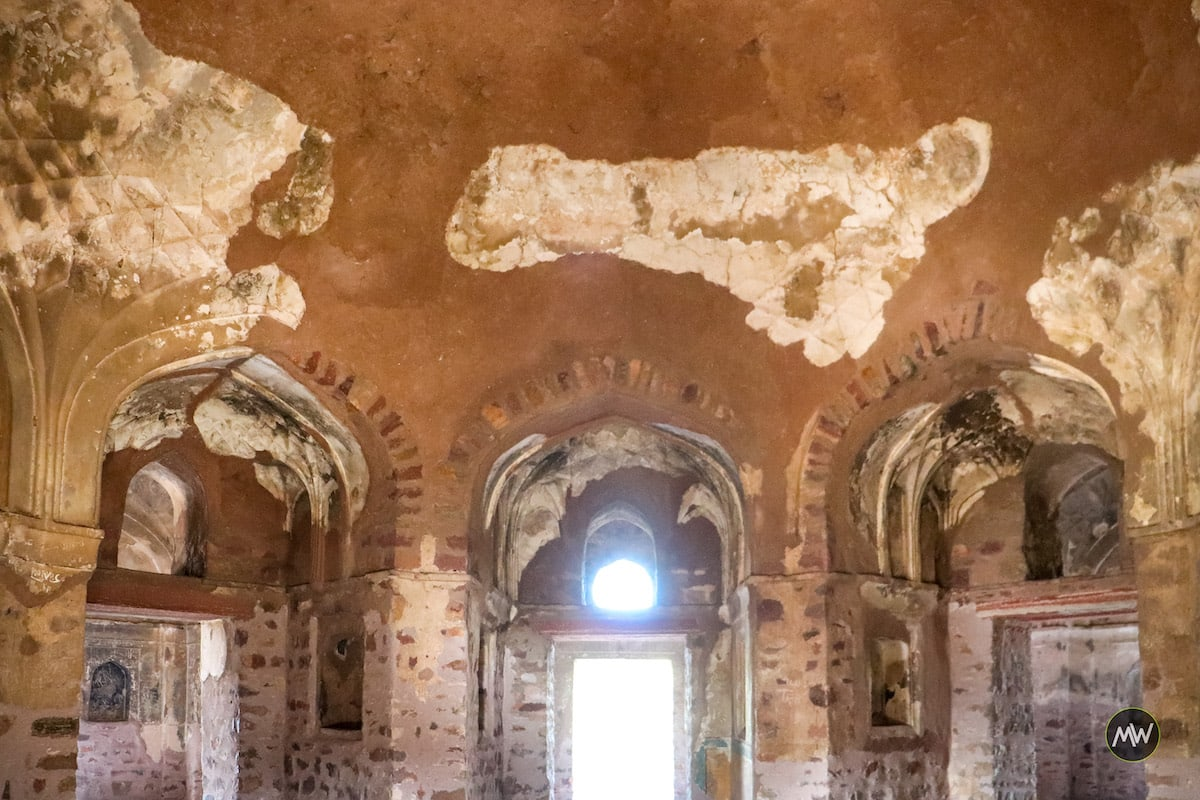 Inside the Lodi Tomb of Sikandra in Agra