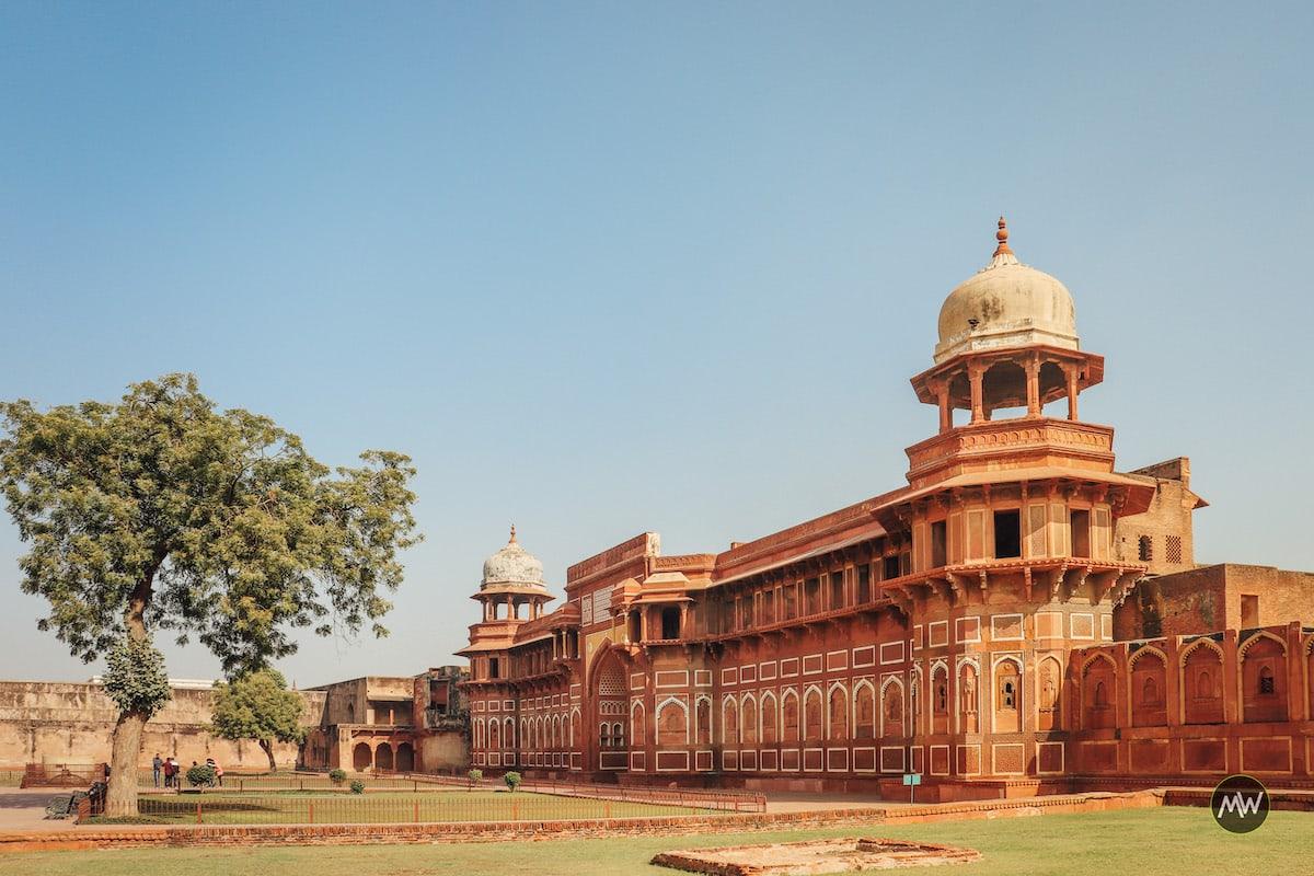 Jahangir's Palace at Agra Fort