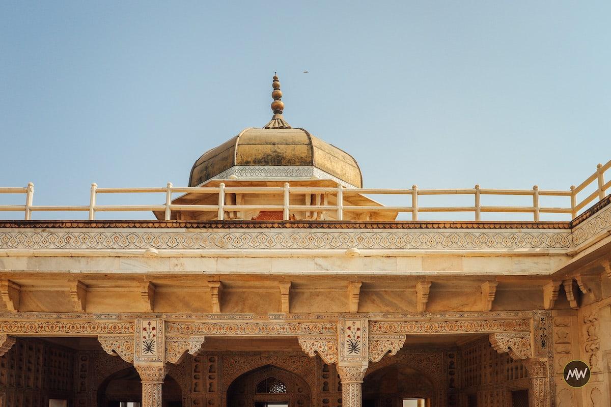 Musamman Burj at Agra Fort