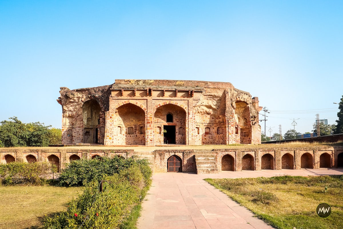 The Lodi Tomb of Sikandra in Agra