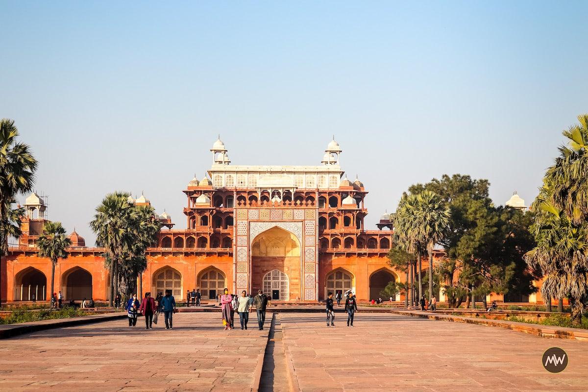 The mausoleum of Akbar