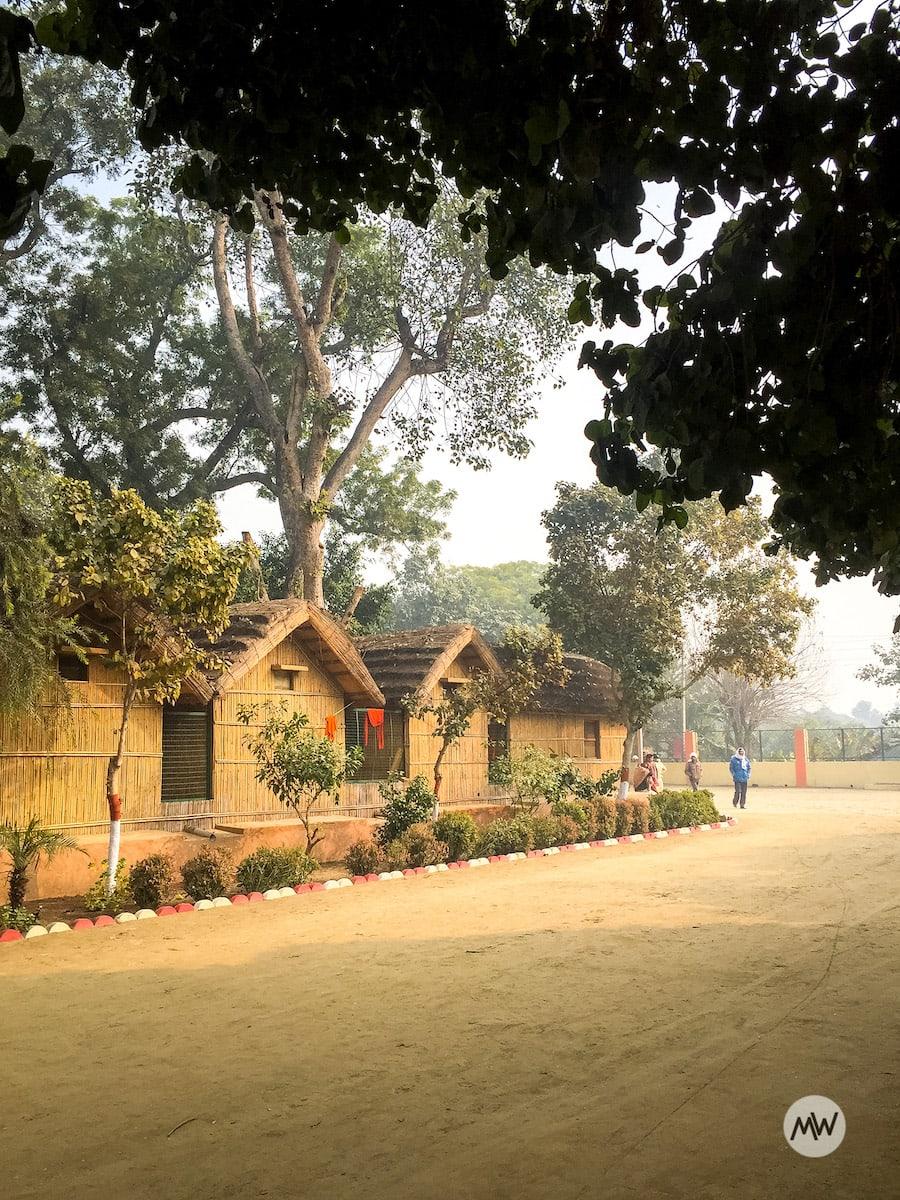 Sages Kutiyas at Raman Reti - Places To Visit in Gokul Govardhan