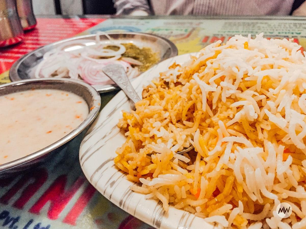 Wahid Biryani 2 - Lucknow Food Guide
